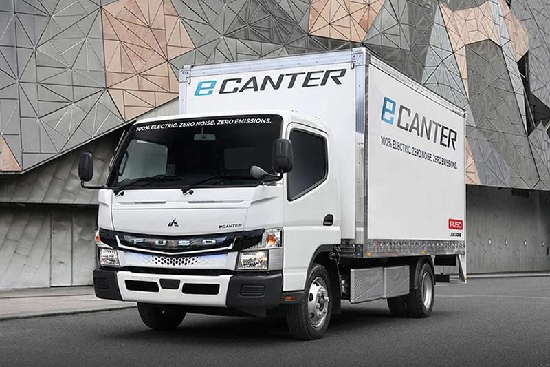 Fuso eCanter Truck - Velocity Truck Centres