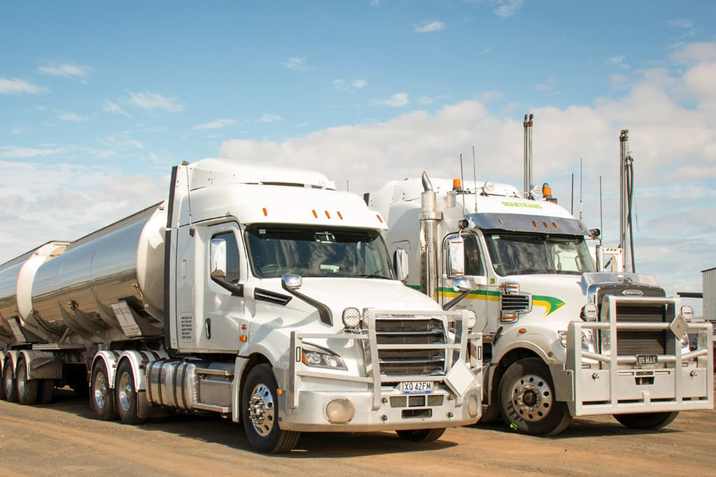 Freightliner Cascadia's